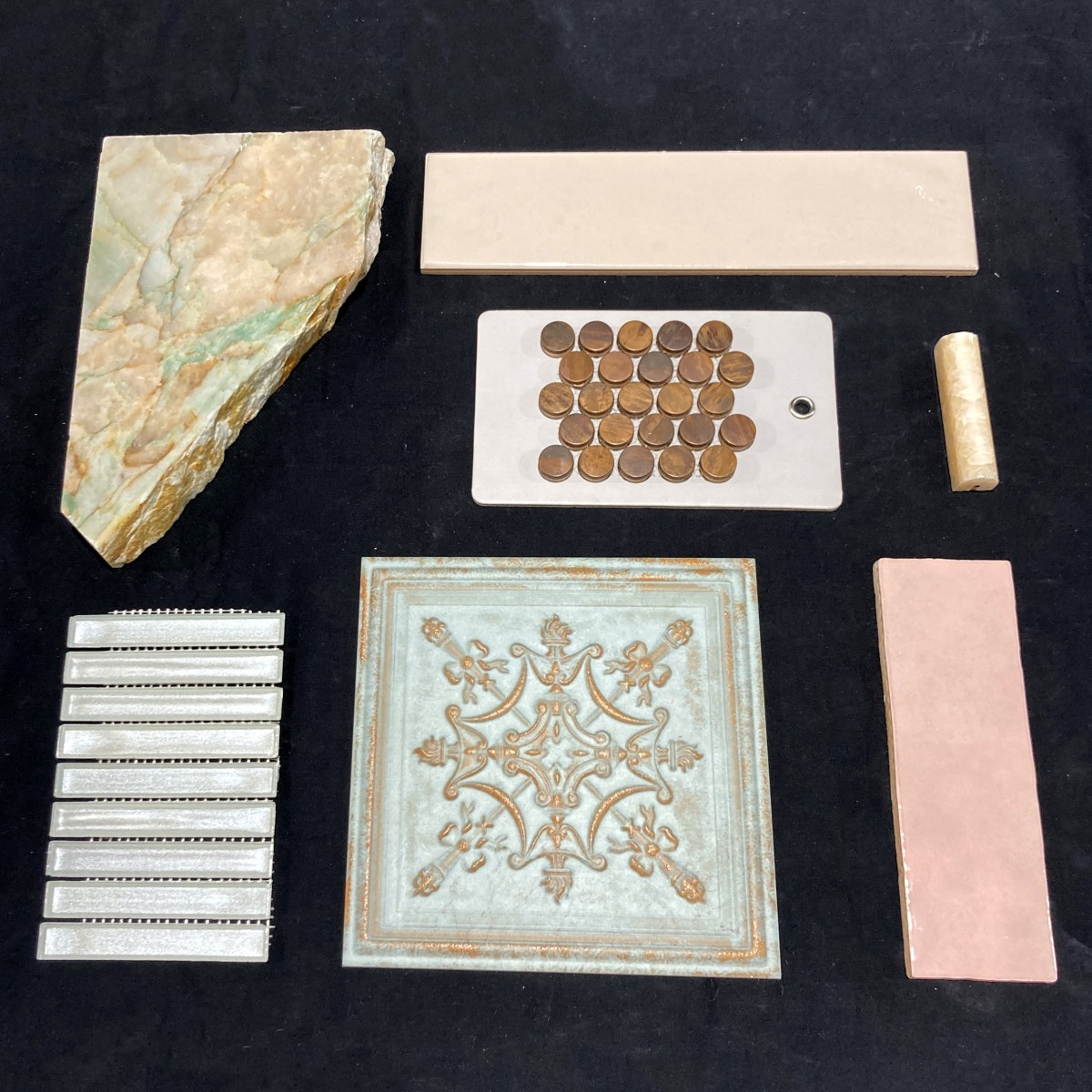 Alexandrina Royalty, design inspiration for tile walls and floors made by Granite Division from Tyler Texas
