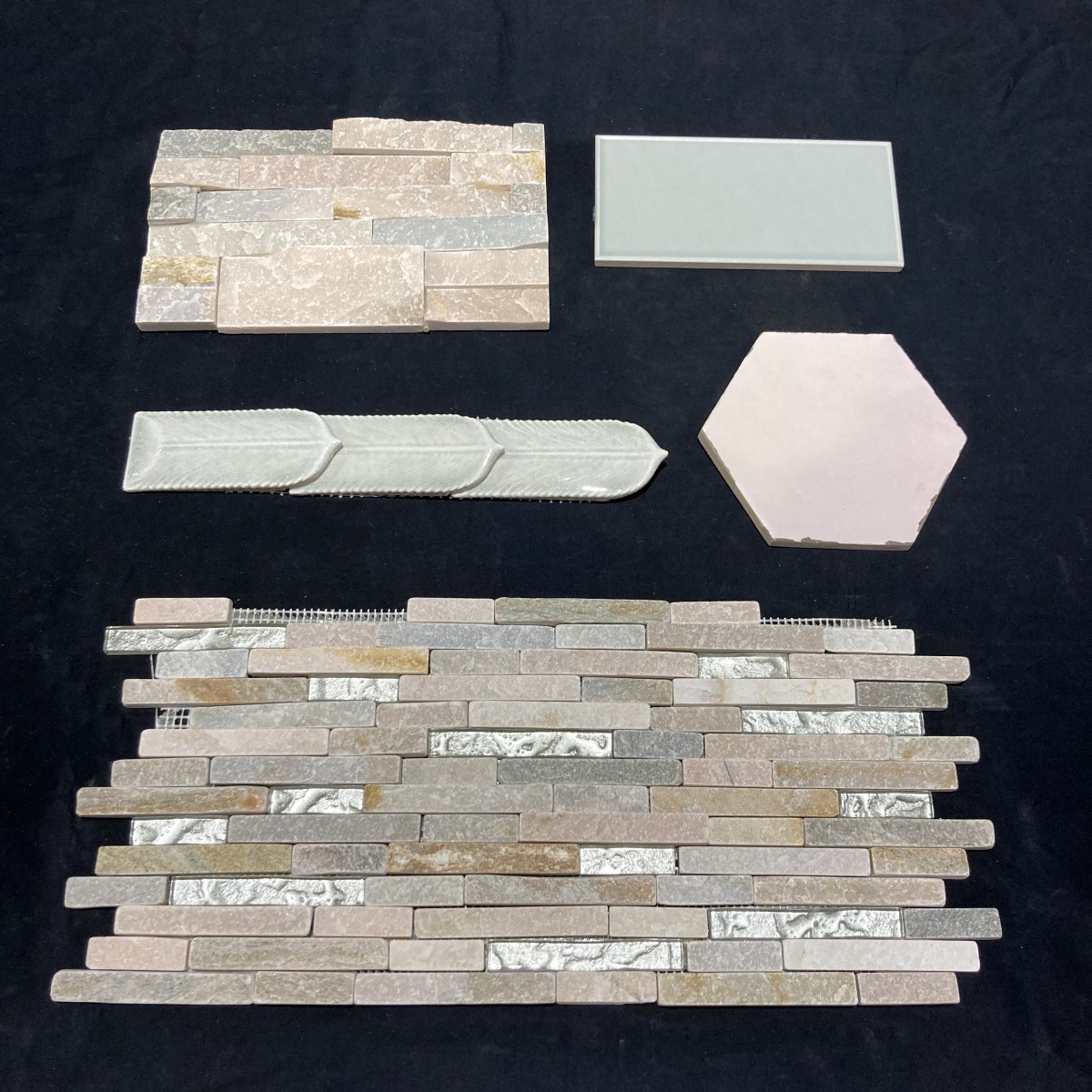 Seaside pearl, design inspiration for tile walls and floors made by Granite Division from Tyler Texas