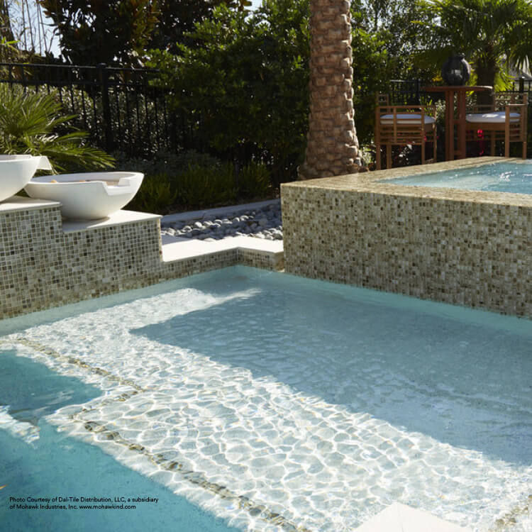 Open pool made of quality materials from Granite Division from Tyler Texas